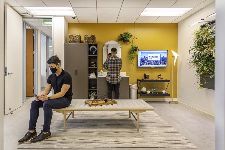 Workplace 2030  mud room