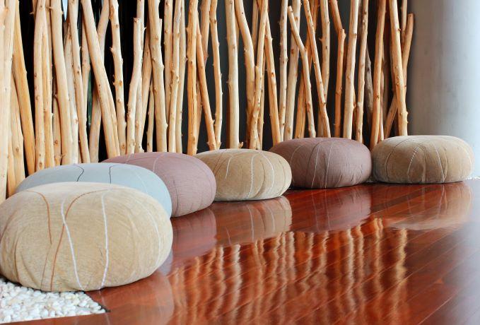 Photo of a meditation room