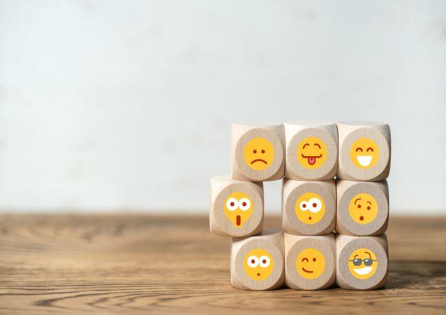 Photo showing different emojis