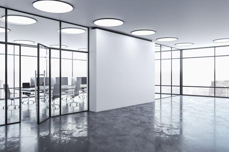 Photo of empty office