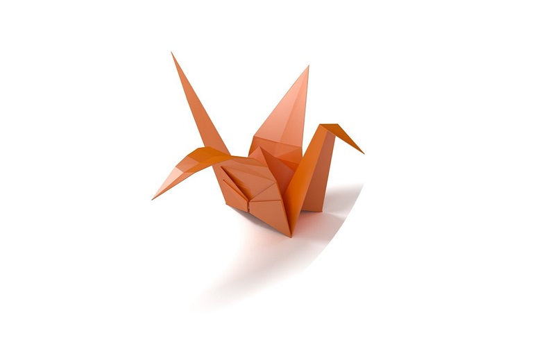 Picture of origami crane