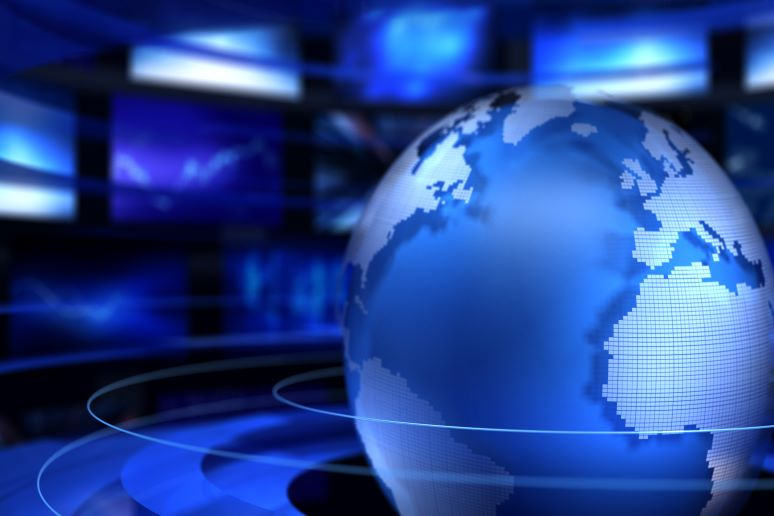 Video encircling the globe