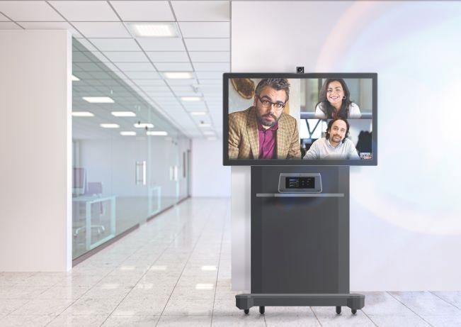 Photo of Crestron Flex-R Series collaboration system
